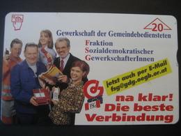"""TK Österreich- F-Serie Ungebraucht """"Gewerkschaft FSG"""" - Austria"""