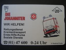 """TK Österreich- F-Serie Ungebraucht """"Die Johanniter"""" - Austria"""