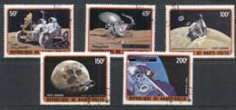 Upper Volta 1973 Moon Exploration CTO - Upper Volta (1958-1984)