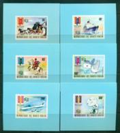 Upper Volta 1974 UPU Centenary 6x PROOF MUH Lot56301 - Upper Volta (1958-1984)