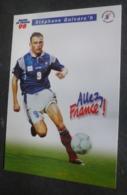 Carte Postale (Coupe Du Monde 1998 - Football) équipe De France 98 - Stéphane Guivarc'h - Fútbol