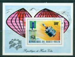 Upper Volta 1974 UPU Centenary MS CTO - Upper Volta (1958-1984)
