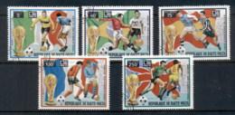 Upper Volta 1974 World Cup Soccer Munich CTO - Upper Volta (1958-1984)