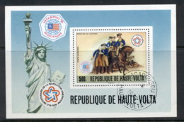 Upper Volta 1975 American Bicentennial MS CTO - Upper Volta (1958-1984)