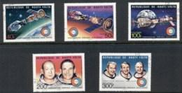Upper Volta 1975 Apollo Soyuz Space Flight CTO - Upper Volta (1958-1984)
