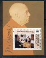 Upper Volta 1975 Picasso MS CTO - Upper Volta (1958-1984)