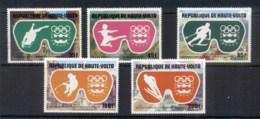 Upper Volta 1975 Winter Olympics Innsbruck CTO - Upper Volta (1958-1984)