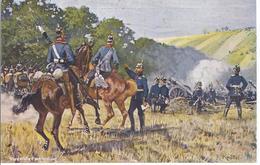 Versteckte Feuerstellung - Kronprinz Und Kronprinzessin Stiftung Des Dt. Kriegerbundes -  AK -10096 - Guerre 1914-18