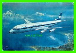 AVIONS - KLM'S DOUGLAS DC-8 INTERCONTINENTAL JET - - 1946-....: Ere Moderne