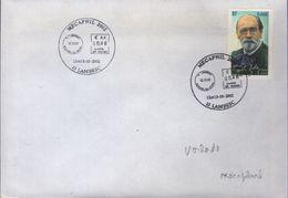 Cachet Temporaire Mécaphil 2002 13 LAMBESC 12 ET 13-10-2002 - Commemorative Postmarks