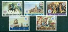 Upper Volta 1976 American Bicentenary INTERPHIL '76 CTO - Upper Volta (1958-1984)