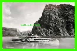 SHIP - BATEAUX - DIE LORELEY - HOURSCH & BECHSTEDT - - Paquebots