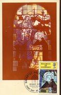 38140 Guernsey, Maximum 1973, Painting On Glass Window,glasfenster, St. Domenicus,churc Notre Dame Du Rosaire - Vetri & Vetrate