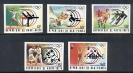 Upper Volta 1976 Summer Olympics Montreal IMPERF MUH - Upper Volta (1958-1984)