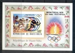 Upper Volta 1976 Summer Olympics Montreal MS IMPERF MUH - Upper Volta (1958-1984)
