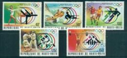 Upper Volta 1976 Summer Olympics, Montreal CTO - Upper Volta (1958-1984)