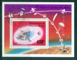 Upper Volta 1976 Viking Mars Space Mission MS CTO - Upper Volta (1958-1984)