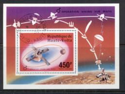Upper Volta 1976 Viking Mars Space Project MS CTO - Upper Volta (1958-1984)
