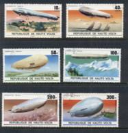 Upper Volta 1976 Zeppelin 75th Anniv. CTO - Upper Volta (1958-1984)