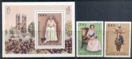 Upper Volta 1977 QEII Silver Jubilee + MS MUH - Upper Volta (1958-1984)