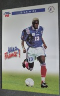Carte Postale (Coupe Du Monde 1998 - Football) équipe De France 98 - Ibrahim Ba - Calcio