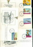 Upper Volta 1978 History Of Aviation, FAI 5xFDC Lot79574 - Upper Volta (1958-1984)