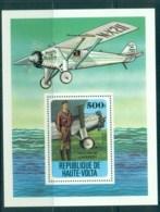 Upper Volta 1978 History Of Aviation, Lindberg MS MUH - Upper Volta (1958-1984)