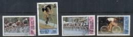 Upper Volta 1980 Summer Olympics Moscow, Cycling CTO - Upper Volta (1958-1984)
