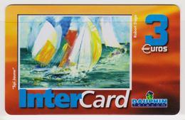 Antilles Françaises InterCard Dauphin 3 Euros 2 Scans N° 1 - Antilles (French)