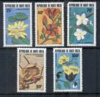 Upper Volta 1982 Flowers MUH - Upper Volta (1958-1984)