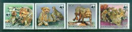 Upper Volta 1984 WWF Cheetah MUH Lot76217 - Upper Volta (1958-1984)