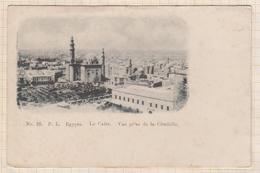 8AK2888 EGYPTE LE CAIRE VUE PRISE DE LA CITADELLE Précurseur 2 SCANS - Le Caire