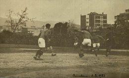 RPPC BARCELONA 1921 - Fútbol