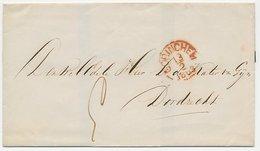 Gorinchem - Dordrecht 1863 - Pays-Bas