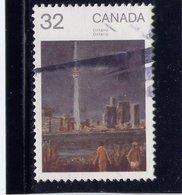 Canada 1984, #1027 Used. Canada Day:  ONTARIO - 1952-.... Règne D'Elizabeth II