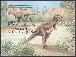 Kambodscha Cambodia 1999 Prähistorische Tiere Fauna Dinosaurier Dinosaurs Daspletosaurus,Bl. 254 Gest. - Kambodscha