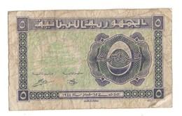 Lebanon 5 Piastres 1944 .J. - Lebanon