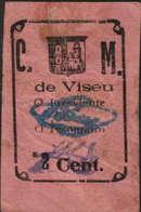 2 CENTAVOS  DA CÂMARA MUNICIPAL DE VISEU - Portugal