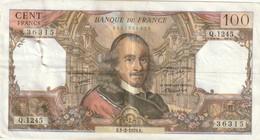 Billet De 100 Francs Corneille Du 1 2 1979 Beau A Trés Beau - 1962-1997 ''Francs''