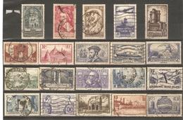 France - 1929/39 - Petit Lot De 20° - Bonnes Valeurs -  2ème Choix - Vc : 51 € - Timbres