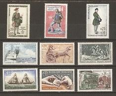 France - 1960/69 - Journée Du Timbre -  Petit Lot De 9 Timbres MNH - France