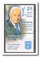 Israël 2015, Postfris MNH, Ariel Sharon - Montenegro