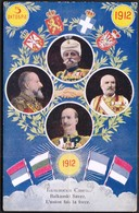 1912 / Balkanski Savez, Balkan League, Balkan Allianz / Balkan Orthodox Kingdoms Of Greece, Bulgaria, Serbia, Montenegro - Serbien