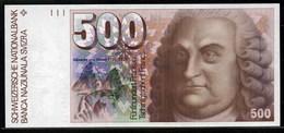 Banconota Da 500 Franchi - Suisse
