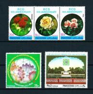 Pakistán  Nº Yvert  446/8-451-518  En Nuevo - Pakistan