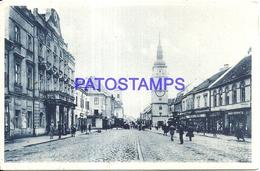 99798 SLOVAKIA TRNAVA VIEW STREET RAILROAD POSTAL POSTCARD - Eslovaquia