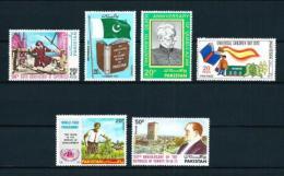 Pakistán  Nº Yvert  333-343/4-349/51  En Nuevo - Pakistán