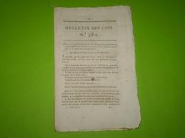 Lois 1821:Tontine De Compensation:statuts,administration... Divers Legs Dont Buis Les Baronnies Et Mirabel (Drôme) ..... - Décrets & Lois