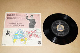 Expo 58,Exposition Bruxelles 1958 ,RARE,originale Pour Collection,disque D'époque,collector,état Proche Du Neuf - Lieux
