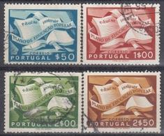 PORTUGAL 1954 Nº 807/10 USADO - 1910-... République